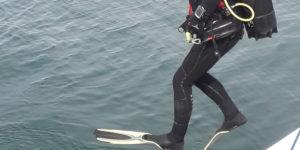club de plongée à bord du catamaran