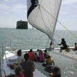 fort boyard catamaran
