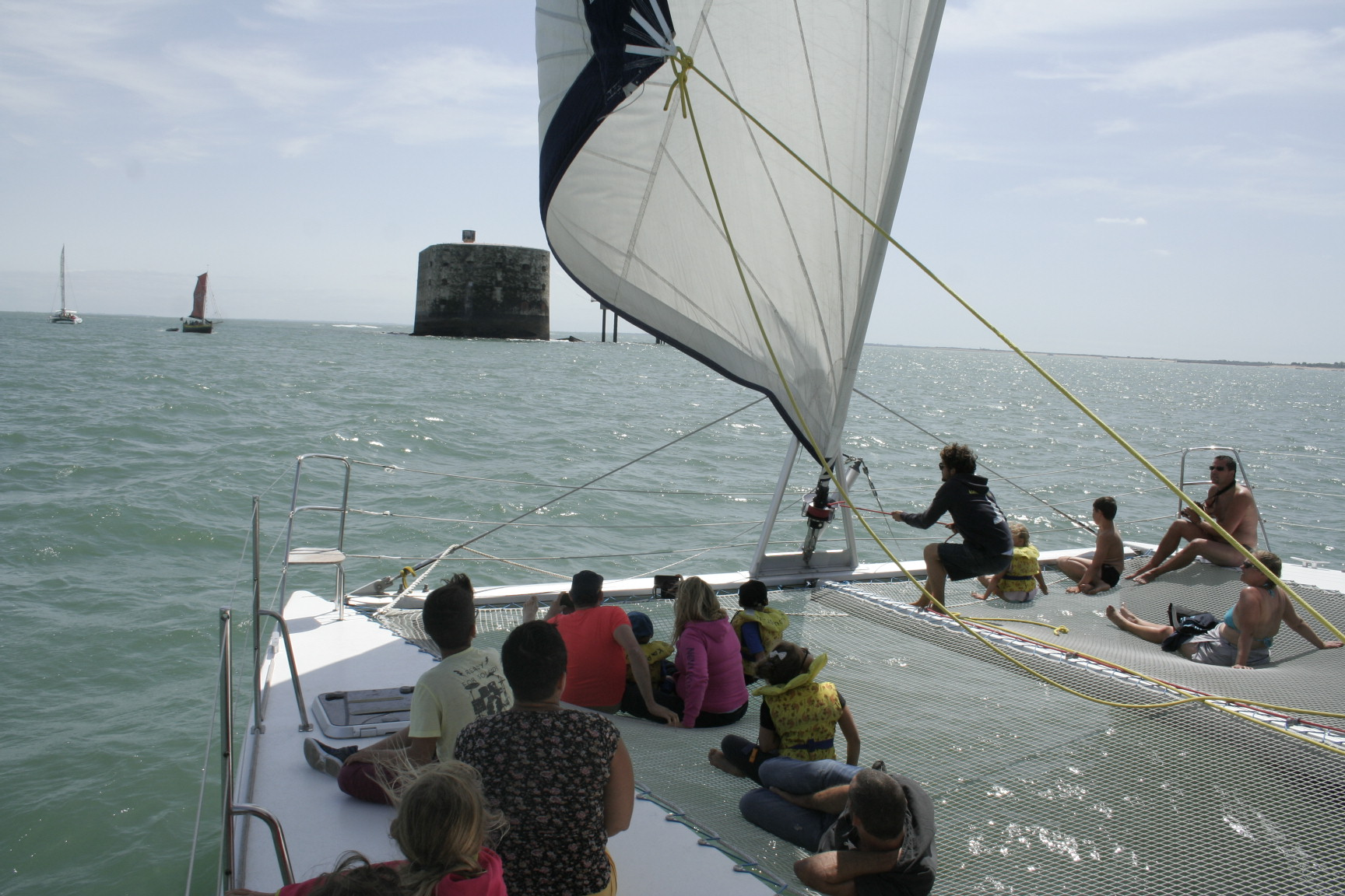 fort boyard catamaran