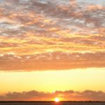 coucher soleil en mer