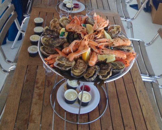Buffet Fruits de Mer - 32€ HT / personne