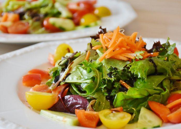 salade avec des cruidités