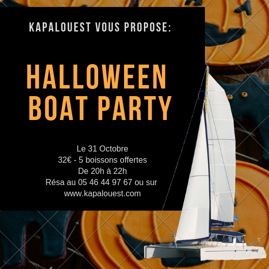 boat party Halloween