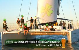 Saint-Patrick s'invite à bord