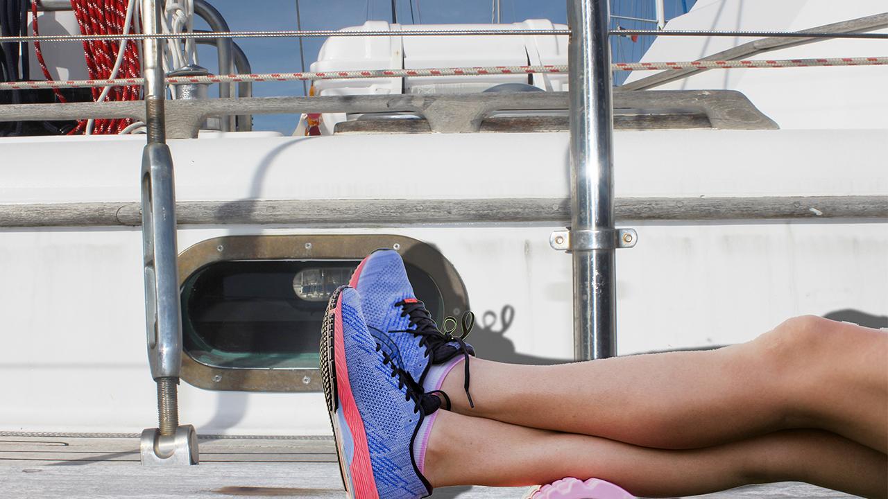 marathon la rochelle 2019 - nuit à bord voilier
