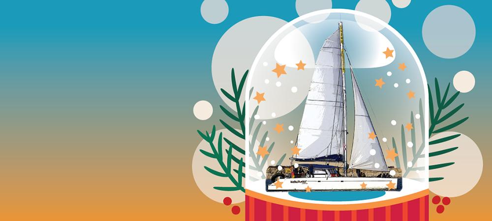 Bon Cadeau de Noel balade en mer à La Rochelle